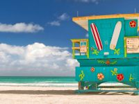 Beach - South Beach Lifeguard Station