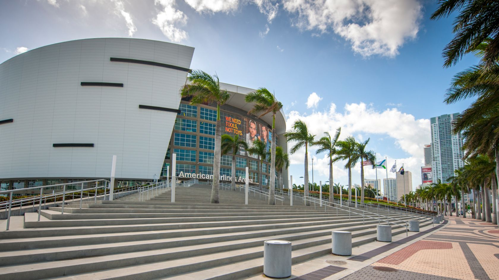 The American Airlines Arena